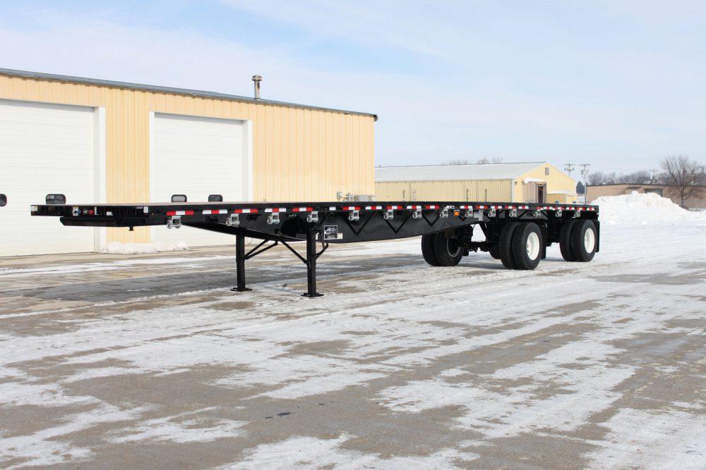 Spread Axle Trailer Weights : Flatbed trailers steel platform trailer jet company