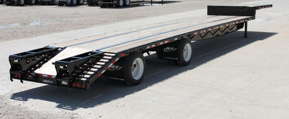 Drop Deck Trailers - Steel & Composite Step Decks | Jet Company