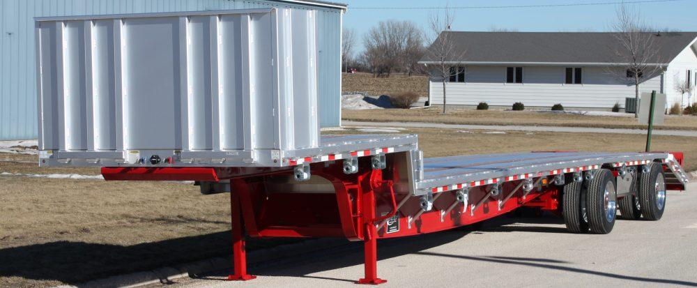 Spread Axle Trailer Weights : Combo aluminum drop deck trailers jet co
