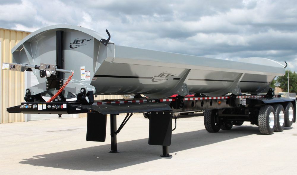 light gray black triple axle side dump trailer e1493417323295 1000x591 side dump trailers jet company jet side dump trailer wiring diagram at edmiracle.co