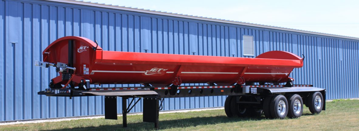 Side dump trailers jet company sciox Image collections