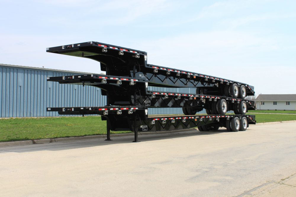 Step Deck Trailer >> Drop Deck Trailers Steel Composite Step Decks Jet Company